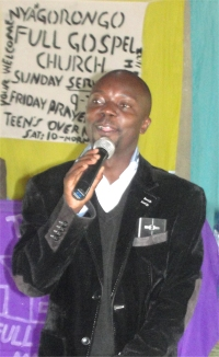 Rev Abraham ministered in Nyagorongo Full Gospel church, the same church that his father, Pastor Isreal, founded and built in 1980.