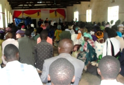 250 Pastors from 74 churches attended the Half day Pastor's Seminar.