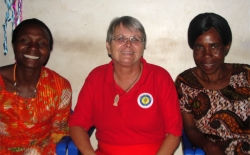 Kasesi was identified as an area that the womens empowerment program could be established and Jenny met with the Full Gospel Zone leaders.