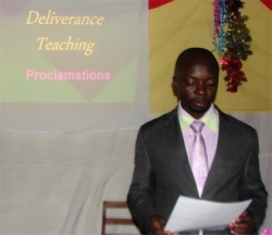 CLICK to visit the second day the Kasese Deliverance Seminar.
