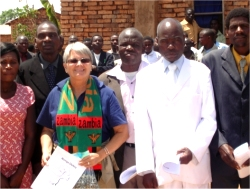 The African Community Moringa Project was introduced to the Pastors present to take back to their churches,