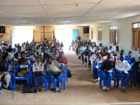 The DR Congo Youth Deliverance Conference was hosted at a CEPCI church