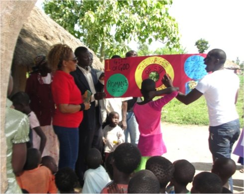 Follow Me Kids Discipleship Training FunTastic Fun Fair childrens evangelism Africa