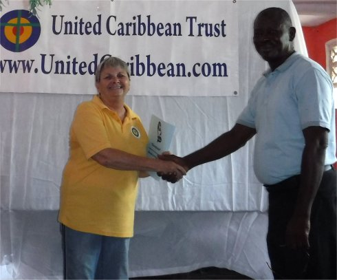 United Caribbean Trust working with Living Room Haiti Development Fund 2017 Mission trip to Port Salut