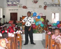 Bethesda school children receive their Make Jesus Smile shoeboxes