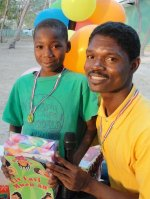 Make Jesus Smile shoeboxes being delivered to the children who were a part of our Summer  Teacher 