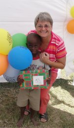 Make Jesus Smile shoeboxes delivered to Heart for Haiti