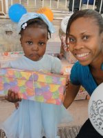 The Nazarene church in Goniave hosted this years Make Jesus Smile shoebox distribution