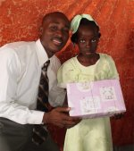 Click to view the Sunday morning Make Jesus Smile shoebox distribution