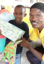 United Children's Mission Make Jesus Smile distribution