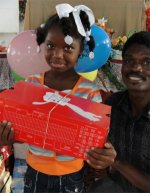 Make Jesus Smile shoebox project UCT working in Haiti at Maranatha Baptist Church Goniave