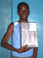 A secong YWAM Make Jesus Smile shoebox distribution took place thanks to Janelle and Daniel.