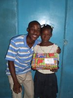 Click to view the second Make Jesus Smile shoebox distribution.