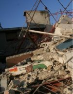 90% of the capital city of Haiti has been destroyed in the earthquake.