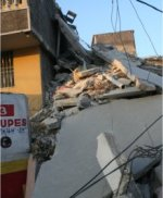 Haiti hit by massive earthquake</a> offices and shops in Port au Prince destroyed