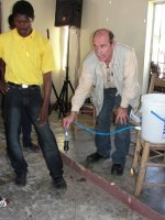 Sawyer PointONE water filter distribution in Jacmel