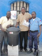 St Marc prison water filter distribution