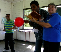 Seen here the Bible Students during the KIMI training in Suriname