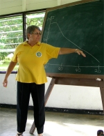 Jenny started the KIMI training at Hebron Bible School in Suriname