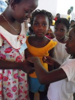 Haiti YWAM Goniave Kids Evangelism Explosion Teacher Training summer camp