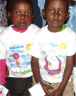 Seen here the children in our Tanzania PowerClub