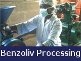 Processing Benzoliv in Haiti