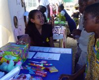 United Caribbean Trust Haiti representative Robertha Alleyne - 'Make Jesus Smile' Easter Project to help and support Haitian children
