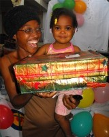 United Caribbean Trust was able to bless this vibrant children's ministry with hundreds if Make Jesus Smile shoeboxes in January 2009.