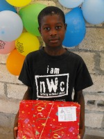 Thanks to the children from the Sunday School at Hillaby Christian Mission Church in Barbados that did a wonderful job at wrapping and packing Make Jesus Smile shoeboxes for the children of Haiti.