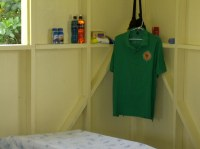 The accommodation consists of dormitory style chalets all clean and serviceable