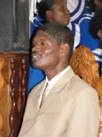Pastor Pierre Banes Lauurore  on his wedding day