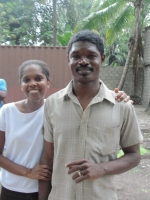 Pastor with his wife