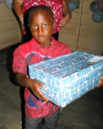 Make Jesus Smile shoeboxes