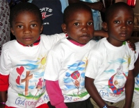 Each of these children are available for sponsorship, visit our website to view their profiles and help an African to experience 'Kisses from Heaven'.