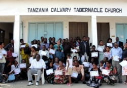 The team from Zambia traveled to Dar Es Saleem for the KIMI Leadership training which was hosted in Calvary Tabernacle Church