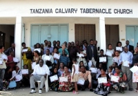 Tanzania Calvary Tabernacle Church hosted the Dar Es Saleem KIMI three day PowerClub leadership training and one day Child Evangelsim.