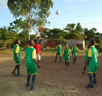 Haiti football team sponsored by UCT click to learn more