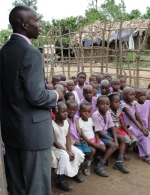 Pastor Tom is the Govenor of this little Bundibugyo school supported by the ministry.