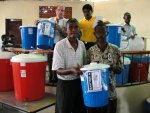 City Soleil receives Sawyer PointONE water filters