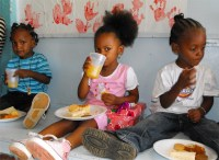 An UCT initiate to activate the Dominica Child Sponsorship Program.