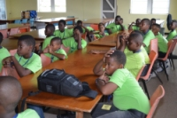Seen here some of the children from the NCSA Summer Camp 2013